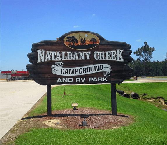 campground in lousiana natalbany creek