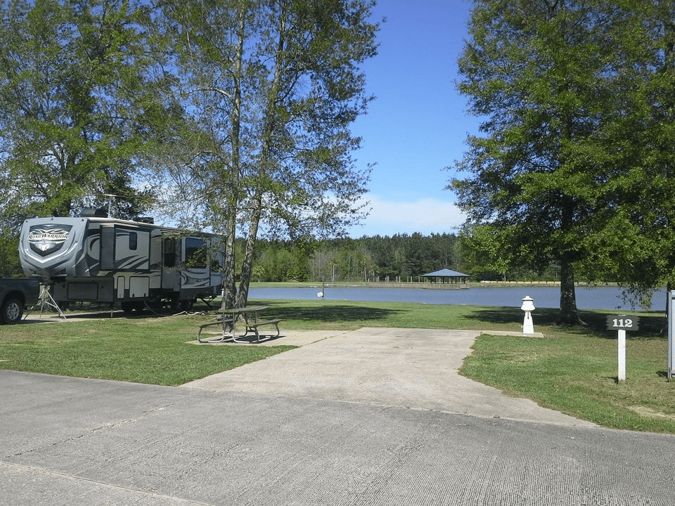 campgrounds in louisiana schedule